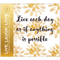 Live, Laugh, Love 2020 Wall Calendar by Legacy WCA50337