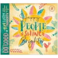 Do Good Think Happy Thoughts 2020 Wall Calendar by Legacy WCA50402
