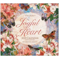 Joyful Heart 2020 Wall Calendar by Legacy WCA52591