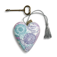 DEMDACO Art Heart - Always my Sister Decoration Gift