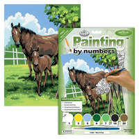 Children Kids Juniors Adults Painting By Numbers Junior Small: Mare & Foal