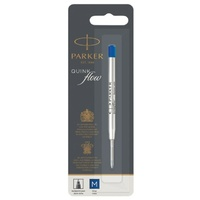 Parker Quink Flow Ballpoint Refill Medium BLUE