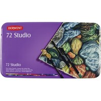 Derwent Studio Fine Colour Pencils 72p in Metal Tin Case