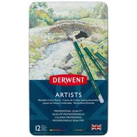 Derwent-Artists 12 Blendable Colouring Pencils