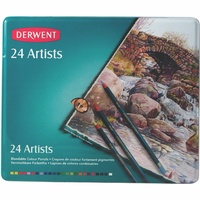 Derwent-Artists 24 Blendable Colouring Pencils
