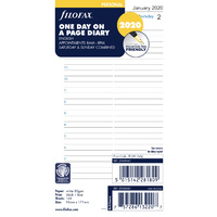 Refill 2020 Filofax Personal Day to Page w/ Appointment 20-68441