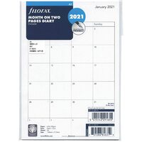 2021 Refill Filofax A5 Month to View English 21-68510