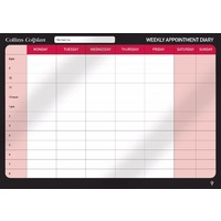 Collins Colplan Weekly Appointment Planner Large A1 Wall Hanging CWP
