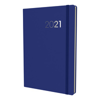 2021 Diary Collins Legacy A5 Week to View Blue CL53.60