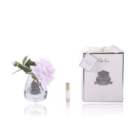 Cote Noire Perfumed Tea Rose - French Pink- Fragance Flowers- Decoration