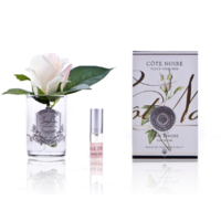 Cote Noire Perfumed Natural Touch Rose Bud - Clear - Pink Blush