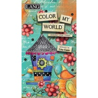 Planner 2019-2020 Color My World 2-Year Planner by Lang incl. Postage