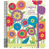 2019 Ladybird Deluxe Planner by Lang, Free Postage