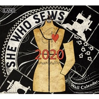She Who Sews 2020 Wall Calendar by Lang 20991001987