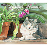 2021 Calendar Cats In The Country by Lang 21991001899