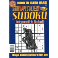 Advanced Sudoku Puzzle Magazine Issue 41