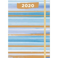 2020 Diary A5 Week to View by For Arts Sake All About Stripes FAS20548