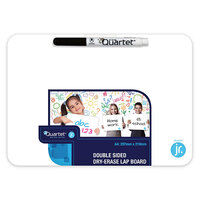 Quartet A4 Double-Sided Dry Erase Lap Board with Marker 29.7 cm x 21 cm