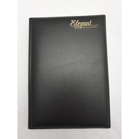 Diary 2020 Cumberland Elegant Casebound A5 Day to Page Black 51EPBK