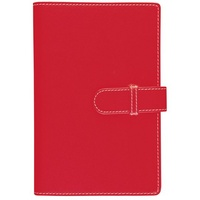 Debden Compendium Accent A4 Red with Side Open Notebook, 5415, Free Postage