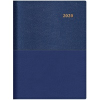 2020 Collins Vanessa Diary A5 Day to Page Blue 185.V33-20