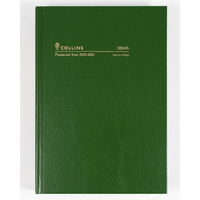 Collins 2020-2021 Financial Year Diary A5 Day to Page Green 18M4