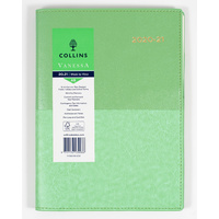Collins Vanessa 2020-2021 Financial Year Diary A5 Week to View Mint FY385