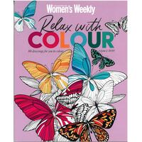 Australian Women's Weekly: Relax with Colour Colouring Magazine Volume 2