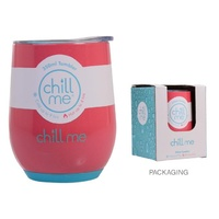 Chill Me Tumbler 350ml - Coral Reef - Triple Walled Insulated Mug Cup