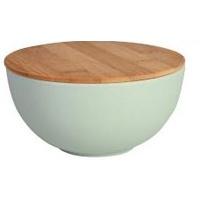 Bamboo Bowl Small with Lid - Green