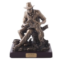 Best Mates Figurine (Bronze) Great Gift For Him, Postage included