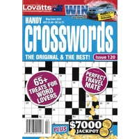 Lovatts Handy Crosswords Puzzle Magazine Issue 120 May/June 2020