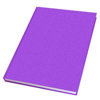 2021 Diary Everyday A5 Week to View Mauve by Last Diary Company EA57ME