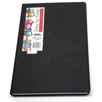 Diary 2020/21 Financial Year Last Diary Company Becall A4 DTP Black 21x30cm