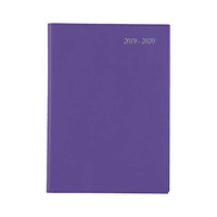 Diary 2019/2020 Financial Year Cumberland Soho Wiro A4 Day To Page Purple