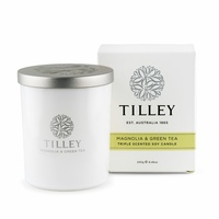Tilley Triple Scented Soy Candles - Magnolia & Green Tea
