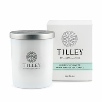 Tilley Triple Scented Soy Candles - Hibiscus Flower