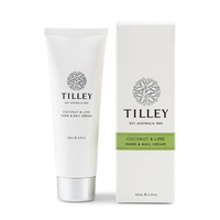 Tilley Hand & Nail Cream - Coconut & Lime 125ml