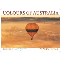 2020 Wall Calendar - Colours of Australia by David Messent Photography