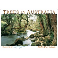 2020 Wall Calendar - Trees in Australia by David Messent Photography