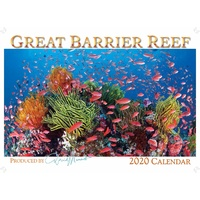 2020 Wall Calendar - Great Barrier Reef by David Messent Photography