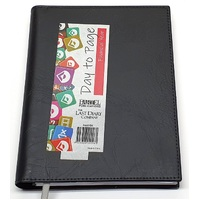 2021-2022 Financial Year Diary Last Diary Company Ainsley A5 Day to Page Black