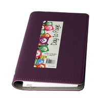 Diary 2020 Last Diary Company Victoria B6 Wiro Day to Page Purple VB61PU