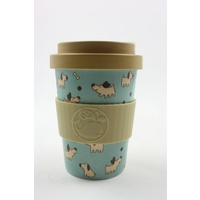 Happy Green Whale Bamboo Eco Cup - Regular 340ML - Happy Dogs