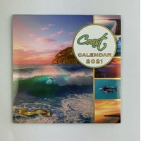 2021 Calendar Coast Square Wall by OzCorp CAL126