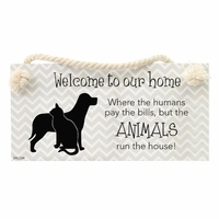 Splosh Precious Pets Hanging Sign - Animals
