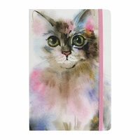 Splosh Art Of Cats - Journal (A5 Lined) Grey Cat
