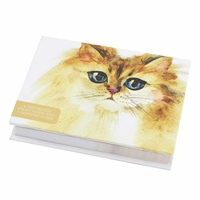 Splosh Art Of Cats - Sticky Notes (Small) Yellow Cat