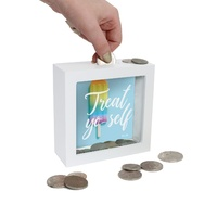 NEW! Splosh Mini Change Money Box - Treat Yo-Self - Gift Present - Free Postage!