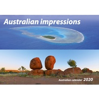 Australian Impressions 2020 Wall Calendar by New Millennium Images